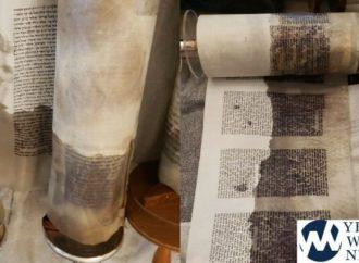 Sifrei Torah en Williamsburg dañado en Shul sumergido bajo el agua y rescatado por Hatzalah (video & fotos)