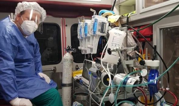 El dilema moral de Israel: Recursos valiosos utilizados en la transferencia compleja de un paciente con ECMO no vacunado
