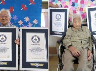Hermanas japonesas certificadas como las gemelas más mayores del mundo a los 107 años
