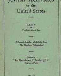 Henry Ford como paradigma del antisemitismo estadounidense