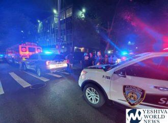 Mujer que grita insultos antisemitas enciende fuego en la calle frente a Yeshiva de Flatbush en Ave J (VIDEOS Y FOTOS)