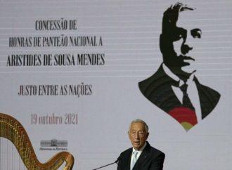 Portugal honra al diplomático que salvó a miles de personas de los nazis