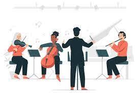Dar las gracias a la orquesta